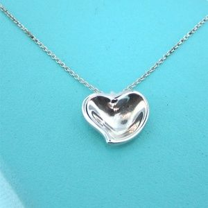 Tiffany & Co. Elsa Peretti Full Heart Necklace